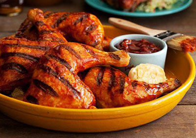 Barbecue Chicken – How to Grill a Chicken